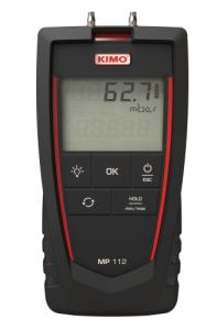 Kimo/Sauermann MP112. Differenstrykmanometer: 0…2000 mbar