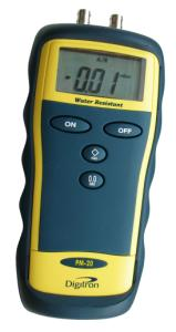 Digitron PM20. Differenstrykmanometer: 0..±130mbar