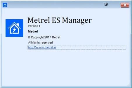 PASSWORD Metrel PRO/advanced ES Manager P1101