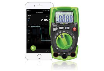 Elma 6100BT IP65 sand RMS Multimeter med Bluetooth